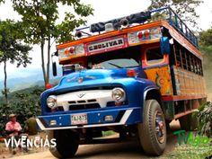Vivencias: Transporte en las montañas.