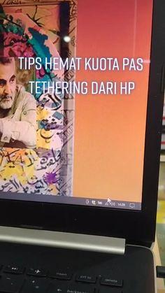 Tips Hemat Kouta pas Tethering dari HP