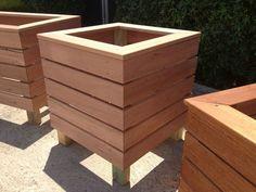 Hardwood Timber Planter