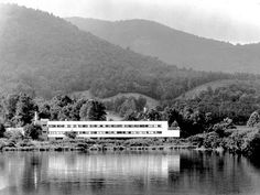 Black Mountain College, Studies Building, Lake Eden