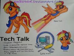 Commission: Tech Talk ref sheet by EmR0304