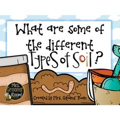What are the Different Types of Soil? Are you learning about rocks and soils? This ebook is for YOU! This is a great way to introduce some of the different types of soils. Elementary Science, Science Classroom, Teaching Science, Classroom Ideas, Teaching Ideas, Reggio Classroom, Classroom Freebies, Science Curriculum, Classroom Displays