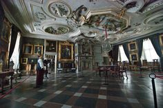 SWEDEN - Skokloster Castle, The King´s Hall - SkyscraperCity