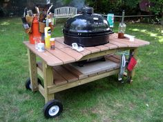 Homemade Grill Table 10 Easy DIY designs | EASY DIY and CRAFTS