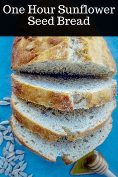 One Hour Sunflower Seed Bread - Romina's Little Corner Easy Bread Recipes, Whole Food Recipes, Savoury Recipes, Delicious Recipes, Cauliflower Cheese Soups, Sunflower Seeds, Sunflower Seed Recipes, Seed Bread