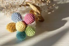 bracelet crochet bracelet baby developing bracelet by BambinoStore