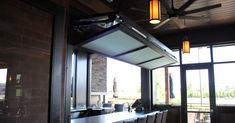 Bifold door over counter top at Granite City Brewery in Maple Grove, MN.