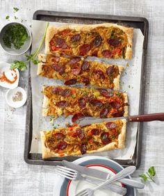 Blätterteig-Pizza Rezept - [ESSEN UND TRINKEN]