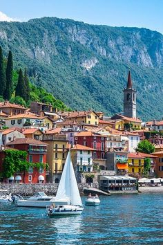 Varenna: The 9 Most Hands-Down, Drop-Dead Gorgeous Photogenic Places in Italy via @PureWow