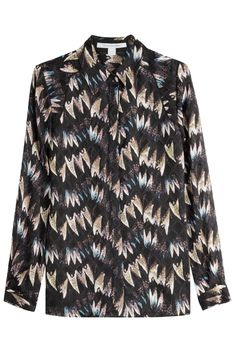#AdoreWe #STYLEBOP.com (DE) - #Diane von Furstenberg Diane von Furstenberg Bedruckte Bluse aus Seide - AdoreWe.com
