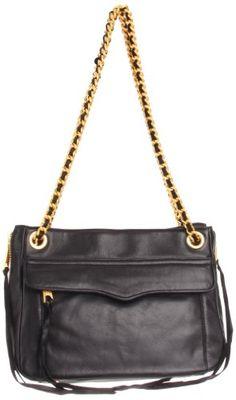 Rebecca Minkoff Women's Swing Shoulder Bag with Hidden Zipper