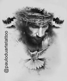 Come Christ Christ - Tattoo ideas - - - Religion Tattoos, Jesus Tattoo, Bible Tattoos, God Tattoos, Jesus Drawings, Tattoo Drawings, La Familia Tattoo, Christus Tattoo, Tattoo Avant Bras