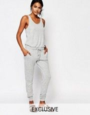 Nocozo Sleeveless Jumpsuit With Drawstring Waist