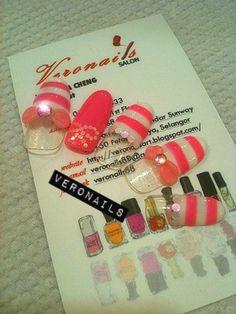 Veronails: Sweet Pink Ribbon