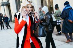 Street style & tendencias en el New York Fashion Week