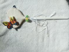Butterfly Heart Magic Wand