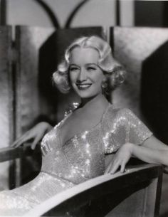 """Miriam Hopkins in her signature gown from """"Design For Living"""" (1933)"""