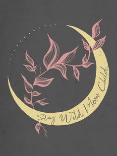 MoonChild All Over Graphic Tee by Mari Mauro - Medium Stay Wild Moon Child, Tattoos For Kids, Illustration, Moon Art, Aesthetic Art, Wall Collage, Art Inspo, Iphone Wallpaper, Art Drawings