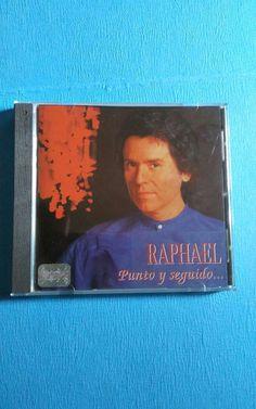 "CD RAPHAEL ""PUNTO Y SEGUIDO"" #Latin #Raphael #PuntoYSeguido"