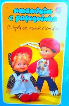 Boneca #Paçoquinha #Estrela, 1977 Brazilian Baby Beans