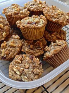 {Healthier} Cranberry Orange Muffins