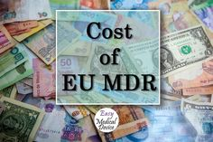 Since few years now a lot of companies are transitioning to an EU MDR project to continue sell their products to Europe. But how much does it cost? This is what we will reveal you in this article. The post What is the cost of an EU MDR project? [Medical Device Regulation] appeared first on Medical Device Regulation and ISO quality standard. Regulatory Affairs, Regulatory Compliance, Medical Devices, Easy, Projects, Europe, Moose, Log Projects, Blue Prints