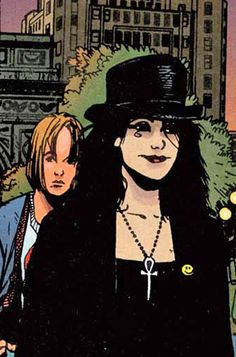 """. I didn't want a Death who agonised over her role, or who took a grim delight in her job, or who didn't care. I wanted a Death that I'd like to meet, in the end. Someone who would care. Like her."" - Neil Gaiman (Art by Chris Bachalo, Death: The Time of Your Life)"