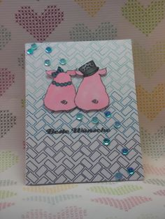 zur Hochzeit  #sausandesign #lawnfawn #papersmooches #deltamarker #pailetten #klartextstempel
