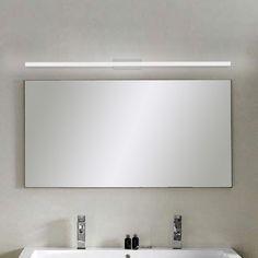 Modern Bathroom Mirrors, Bathroom Mirror Lights, Bathroom Vanity Lighting, Bathrooms, Funky Bathroom, Makeup Vanity Lighting, Modern Bathroom Light Fixtures, Lighted Mirror, Light Bathroom