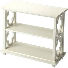 $308 - quatrefoil short bookcase - need this for the entry foyer!!!!! - Found it at Joss & Main - Arden Bookcase