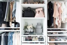 Using Your Closet - How It Girls Display Their Beauty Products - Photos