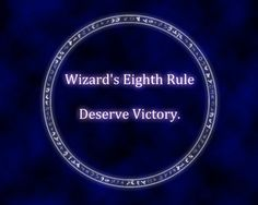 Wizard's 8th Rule