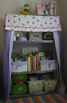 Fabric Cover For Wire Shelving Unit Crafty Crafts Units