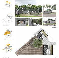 Konteks - Angan-angan Toilet Nyaman di Taman Monas Ideas Baños, Ada Bathroom, Restroom Design, Public Bathrooms, Toilet Design, Green Architecture, Design Competitions, Urban Planning, Architect Design