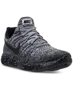 71833ec8f9c7 Nike Women s LunarEpic Low Flyknit 2 Running Sneakers from Finish Line -  Silver 6.5 Running Shoe