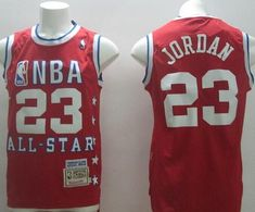 NBA Chicago Bulls 23 Jordan Red All Star 1992 Jerseys 8f996f854