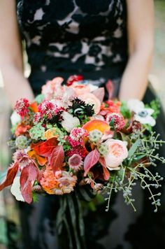 Snippets, Whispers and Ribbons – 5 of the Most Beautiful Autumn Bouquets