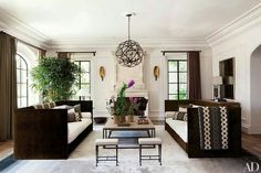 White walls and luscious details