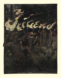Giving in to my Jugend magazine obsession.  Here is my very favorite cover to start the board off.  This is very early turn of century.