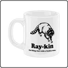 Trailer Park Boys | Ray-Kin (White) | Mug | Officially Licensed Music T shirts, Hoodies and other merchandise.