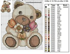 53 Ideas Knitting Charts Cute Perler Beads For 2019 Just Cross Stitch, Cross Stitch Baby, Cross Stitch Animals, Cross Stitch Kits, Cross Stitch Charts, Cross Stitch Designs, Cross Stitch Patterns, Knitting Charts, Loom Knitting