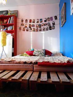 ギシギシうるさくない、安く手軽にできておしゃれな「木製パレット・ベッド」をDIY_2