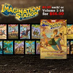 Adventures in Odyssey Imagination Station Series on Sale gsbooks.us/p/4720003000369