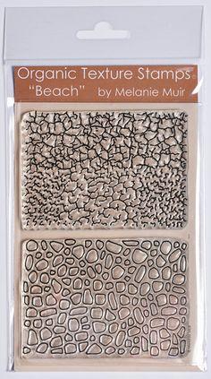 Organic Texture Stamp/Sheet - 'BEACH'