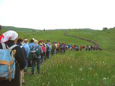 La Grande Rogazione!  Sabato 11 maggio 2013 ad Asiago, come ogni anno il sabato precedente la domenica d'Ascensione, si ripete la Grande Rogazione: una processione religiosa che da secoli gli abitanti della zona ripetono lungo un cammino di 33 km.