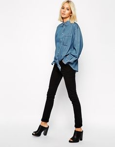 Cheap Monday Second Skin High Waist Skinny Jeans