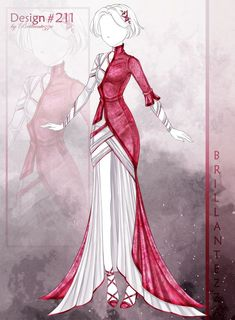 Drawing Anime Clothes, Dress Drawing, Fashion Design Drawings, Fashion Sketches, Drawing Fashion, Fashion Art, Clothing Sketches, Dress Sketches, Cosplay Outfits