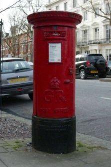 Post box's locations are a secret