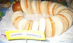 Gusano sándwich  educamania.es/blog