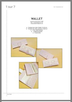 Wallet Tutorial, Pocket Cards, It Is Finished, Beauty Tricks, Pocket Charts